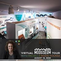 Bob Moog Foundation Announces Virtual Moogseum Tour To Celebrate Museum's One-Year Anniversary-bmf-virtual_moogseum_tour_with_michelle.jpg