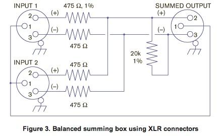 how do i build a mic splitter or perhaps a combiner gearslutz pro rh gearslutz com XLR to 1 4 Wiring Diagram XLR Microphone Wiring Diagram