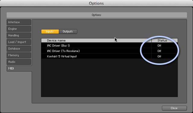 Mengatur MIDI Input Pada Kontakt 5