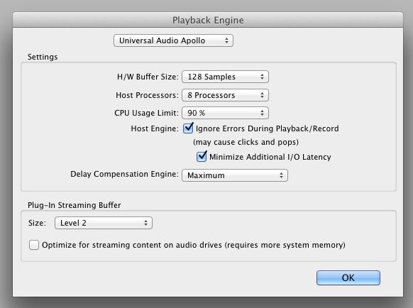 pro tools plugins settings