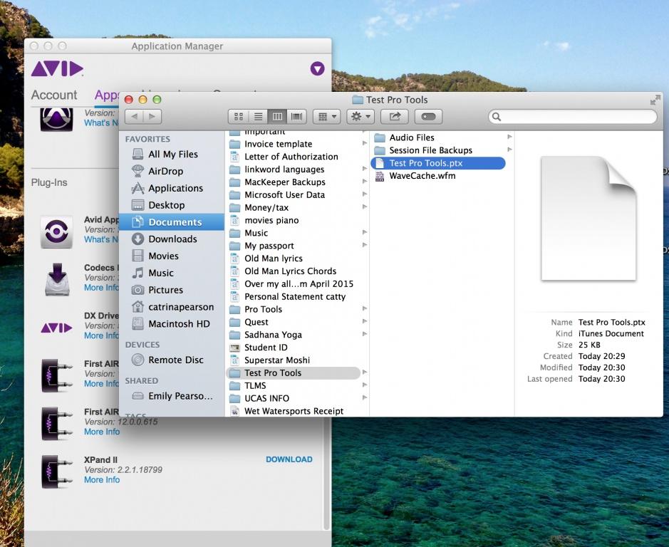 ProTools 12 with MacBoom pro IOS Mavericks Issue - Gearslutz