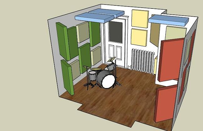 ... Small Live Room Treatment Liveroomplan_3d_2 ...