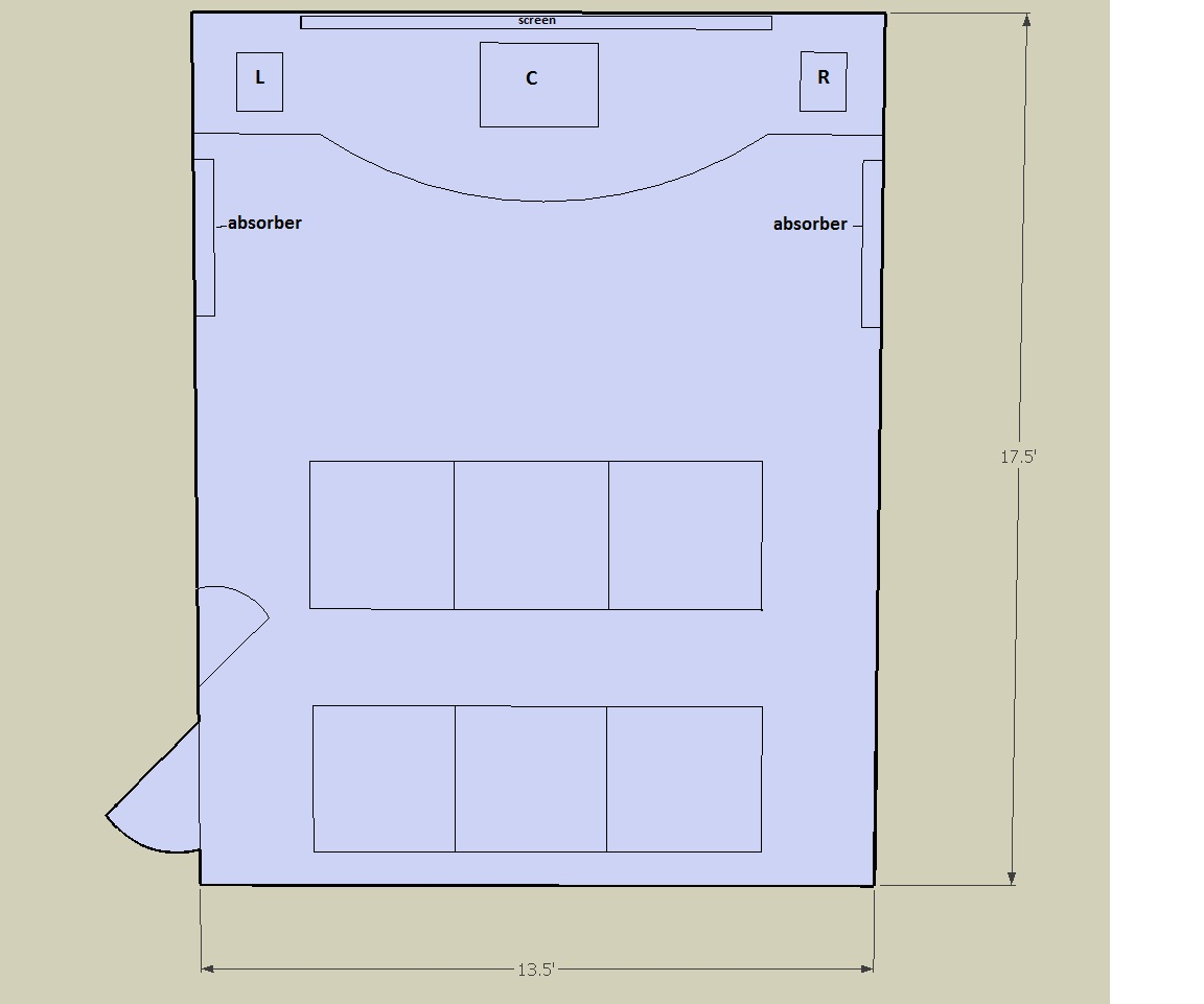 Acoustic Treatments For Home Theatre Room Ht2.5floorplan Part 39