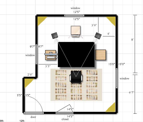 Studio layout for best acoustics gearslutz pro audio for Best room layout