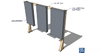 Mounting bass traps and panels to unpainted brick walls in an apartment?-example-freestanding-absorber-support.jpg