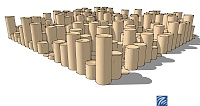 Circular dowels instead of squares for QRD?-random-diffuser-using-cylinders-2.jpg