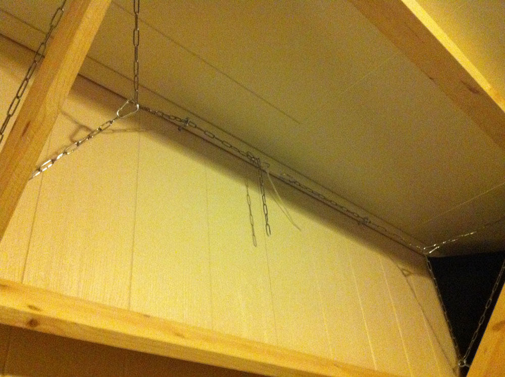 Hanging Traps In Wall Ceiling Corner Pics Inside