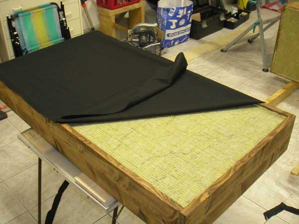 panneau acoustique maison ventana blog. Black Bedroom Furniture Sets. Home Design Ideas