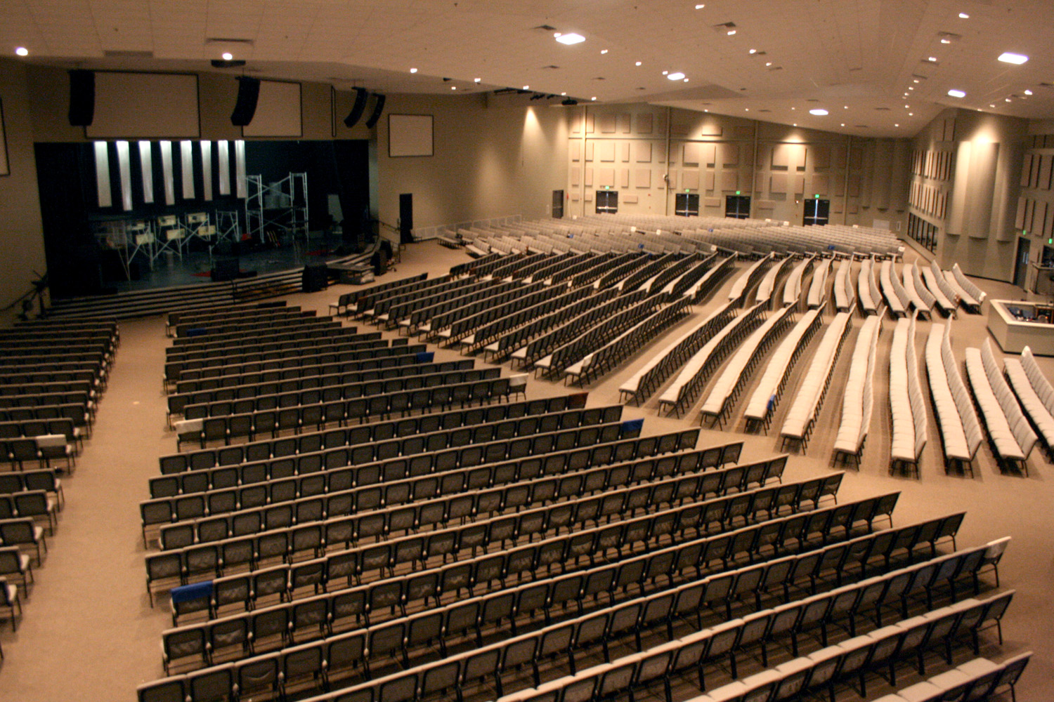 Acoustic Wall Panels For Churches Gik Acoustics Absorber