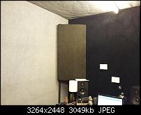 Bass traps 8 in shy of cieling, big deal?-20121207_144628-1-.jpg