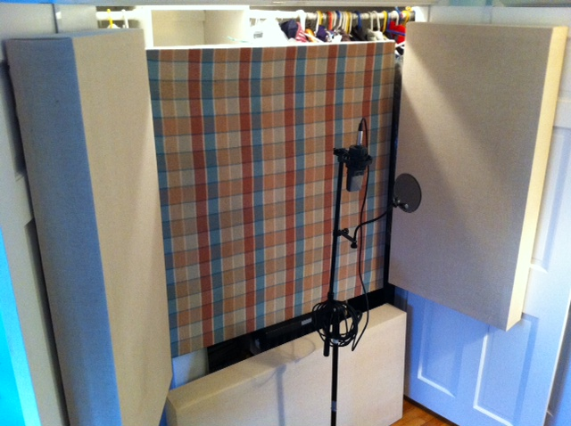 Marvelous Home Studio Tip Build Your Own Vocal Booth On The Cheap The Largest Home Design Picture Inspirations Pitcheantrous