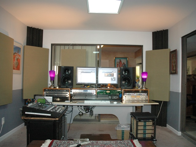 Control Room Furniture Property ideas for acoustic panel placement in control room - gearslutz pro