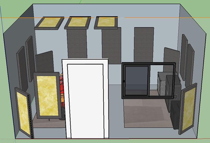 Fantastic Sound Treatment Advice For 9X11 Recording Room Gearslutz Download Free Architecture Designs Scobabritishbridgeorg