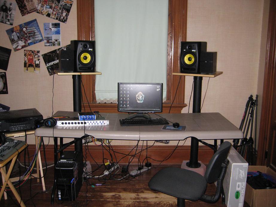 How I Built My Speaker Stands Gearslutz Pro Audio Community
