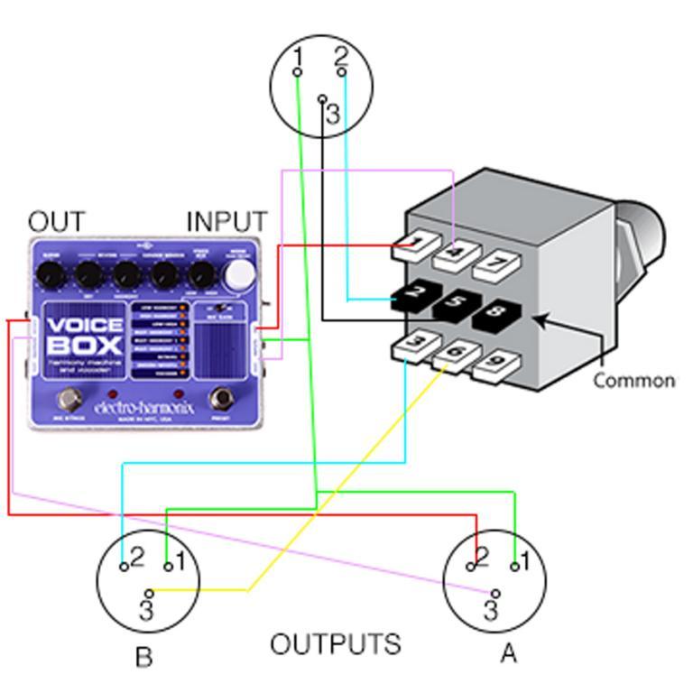 a/b momentary xlr switcher - diy-xlr-switch jpg