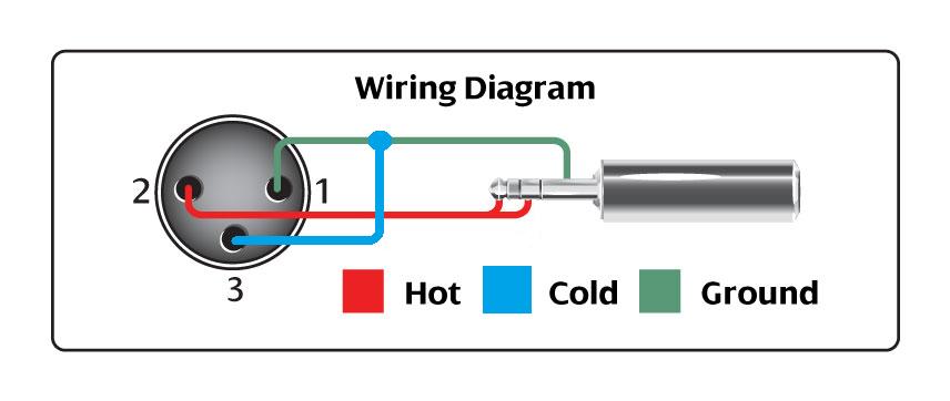 Wiring Diagram For Xlr