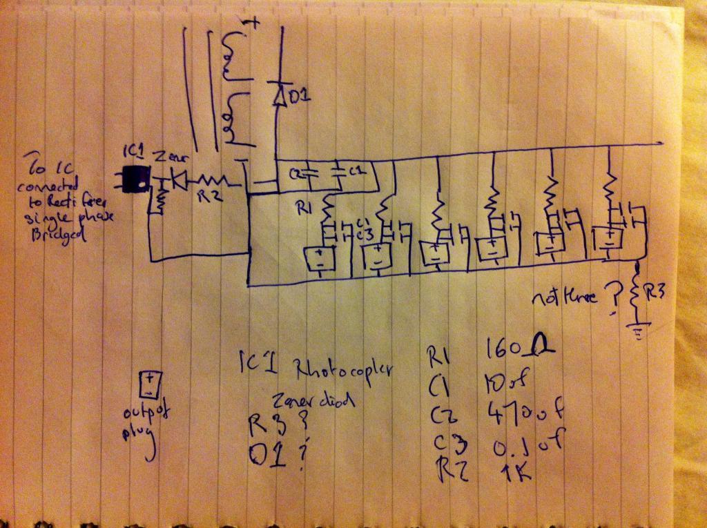 help cleaning up ripple on 9v 6 channel guitar pedal power. Black Bedroom Furniture Sets. Home Design Ideas