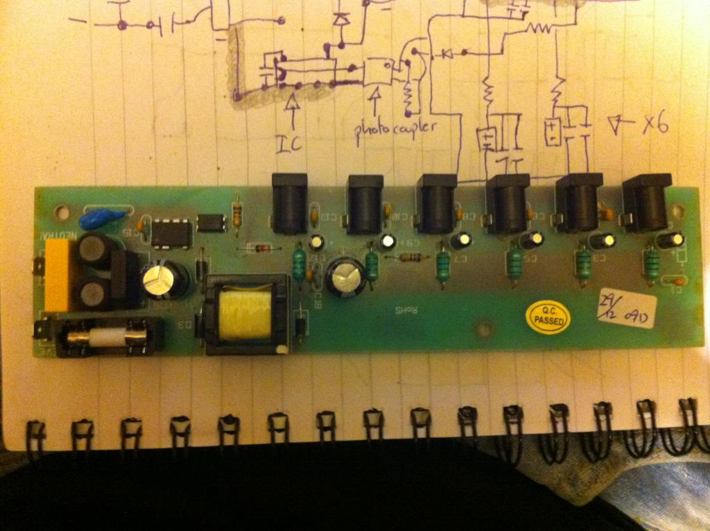 Building A Guitar Pedal Power Supply