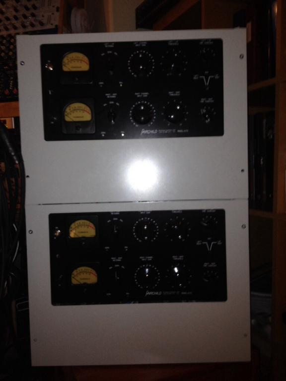 Just finished building my pair of Drip Fairchild 670 units ... on
