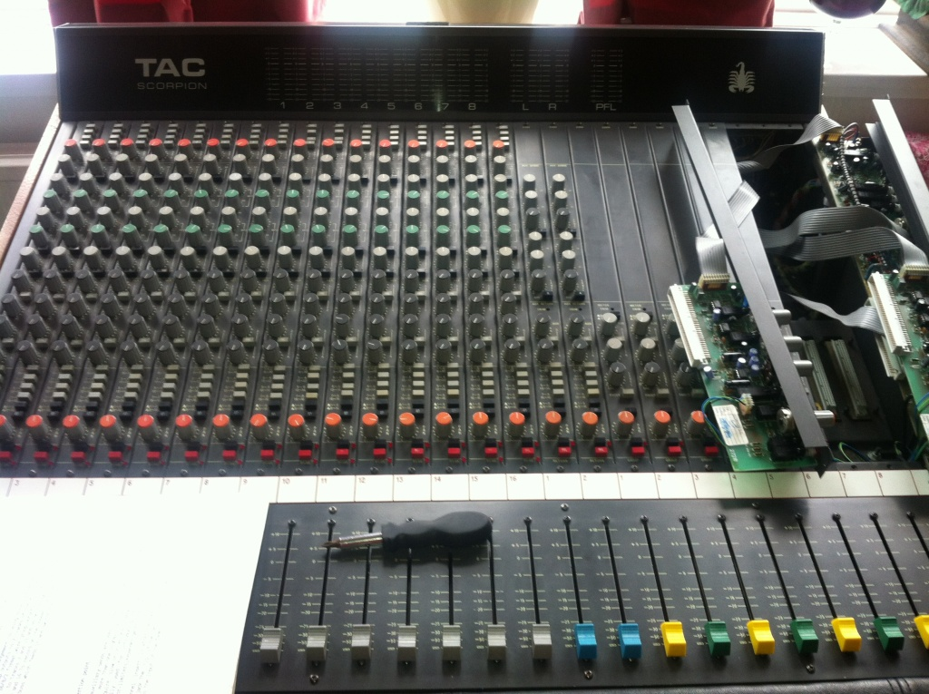 AMEK TAC SCORPION S1000 Mixer Channel  strip Mic Pre EQ Mischpult preamp Alps