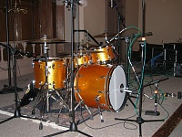 Ludwig Classic Maple vs. DW Collector's Maple- Studio Review-ludwig-gold-sparkle-recording.jpg
