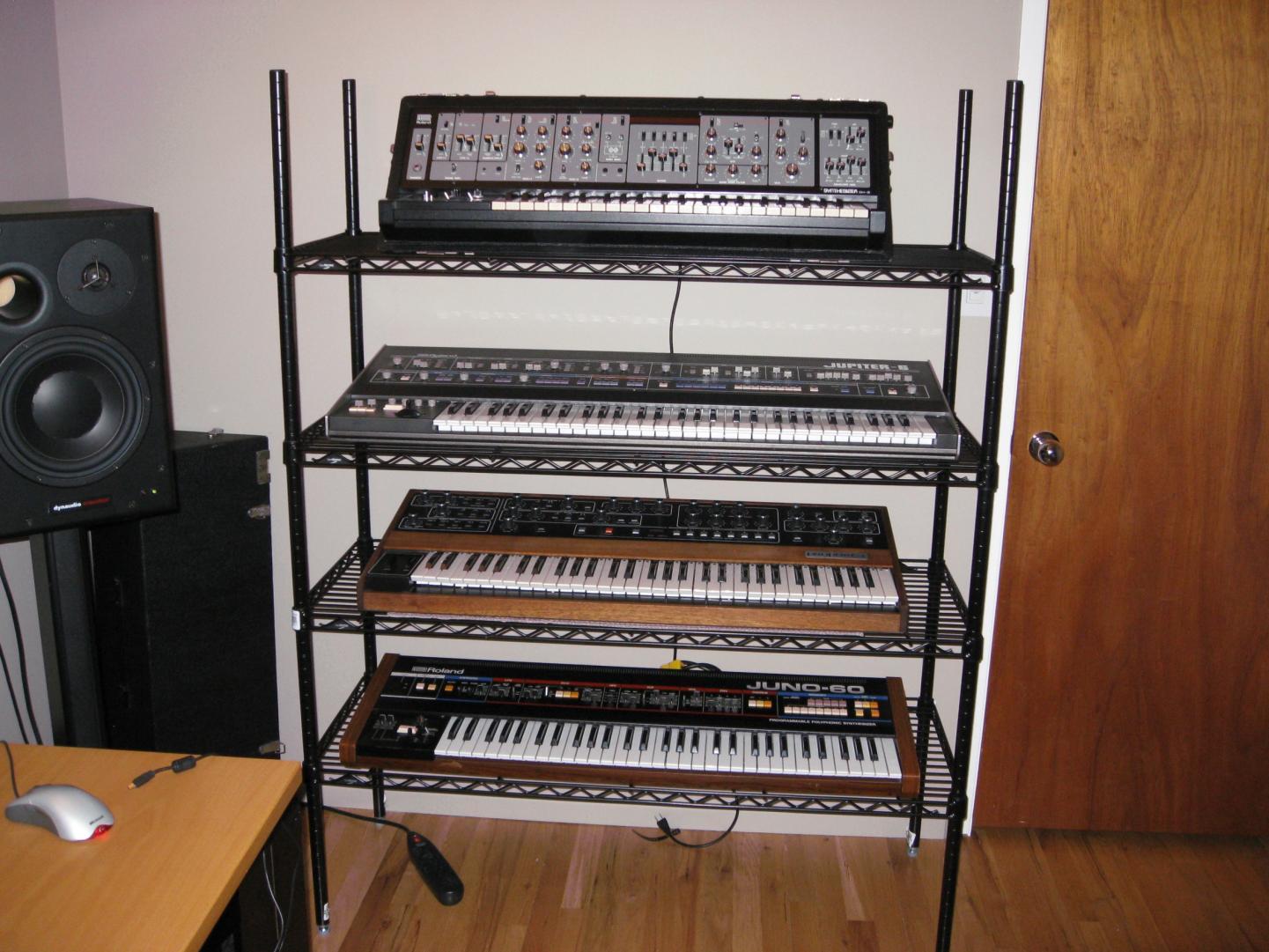keyboard stands shelves gearslutz pro audio community. Black Bedroom Furniture Sets. Home Design Ideas