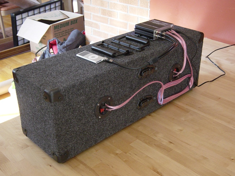 How to Make a Fiberglass Subwoofer Box - Instructables