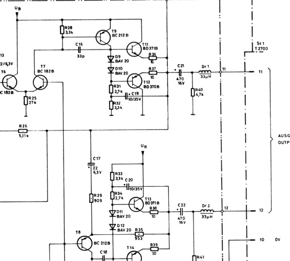synth  unbalanced  to interface  balanced  cable type