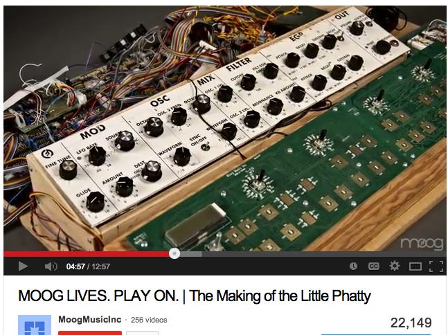 Moog Prodigy or Phatty? - Gearslutz