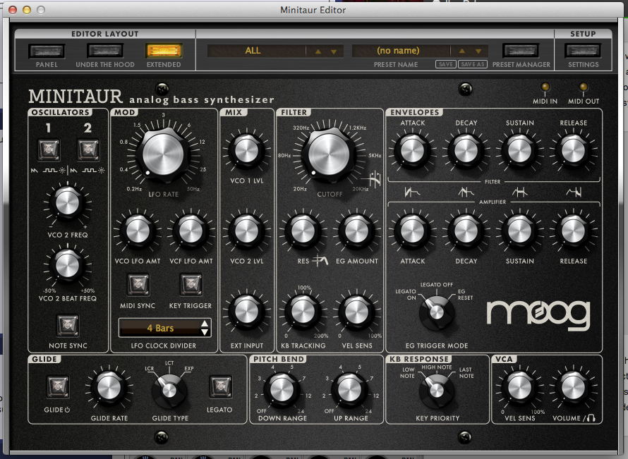 Moog Minitaur Vst Mac Download