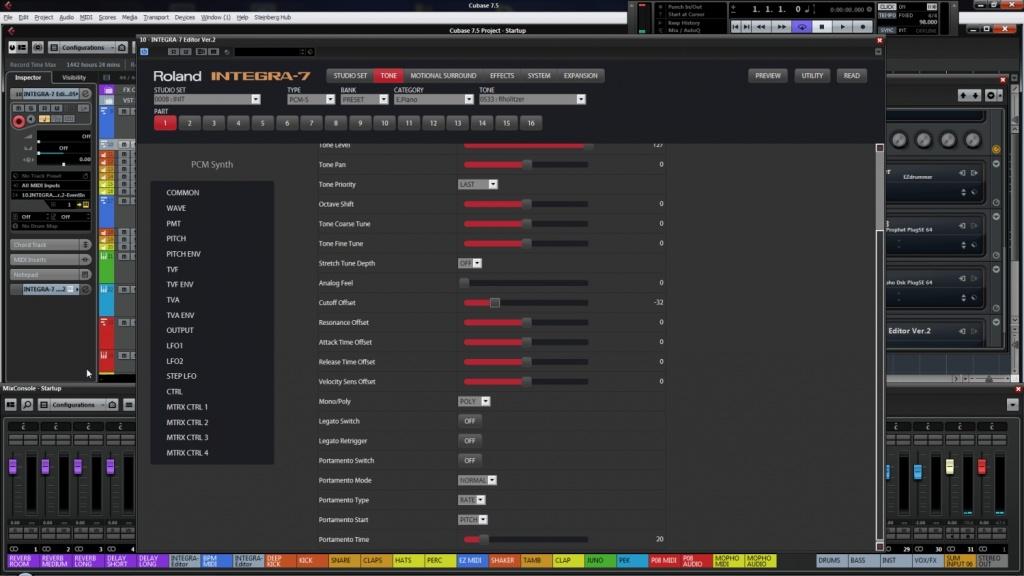 Roland Integra 7 Windows VST editor coming! Integra Editor