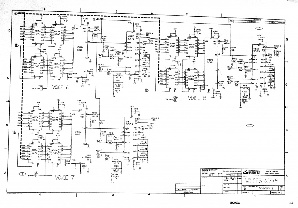 repair advice sequential prophet 2002 voice problem wanted rh gearslutz com Residential Electrical Wiring Diagrams 3-Way Switch Wiring Diagram