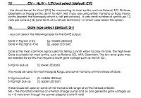 Moog Prodigy CV/Gate Seqencing - Gearslutz
