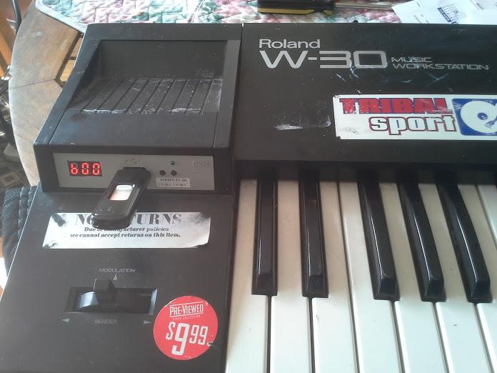 720k floppy emulator to usb has anybody tried one gearslutz pro rh gearslutz com roland w30 user manual Roland W-30 Reverb.com