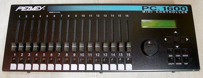 Peavey PC1600 midi controller with Ableton Live 9? - Gearslutz