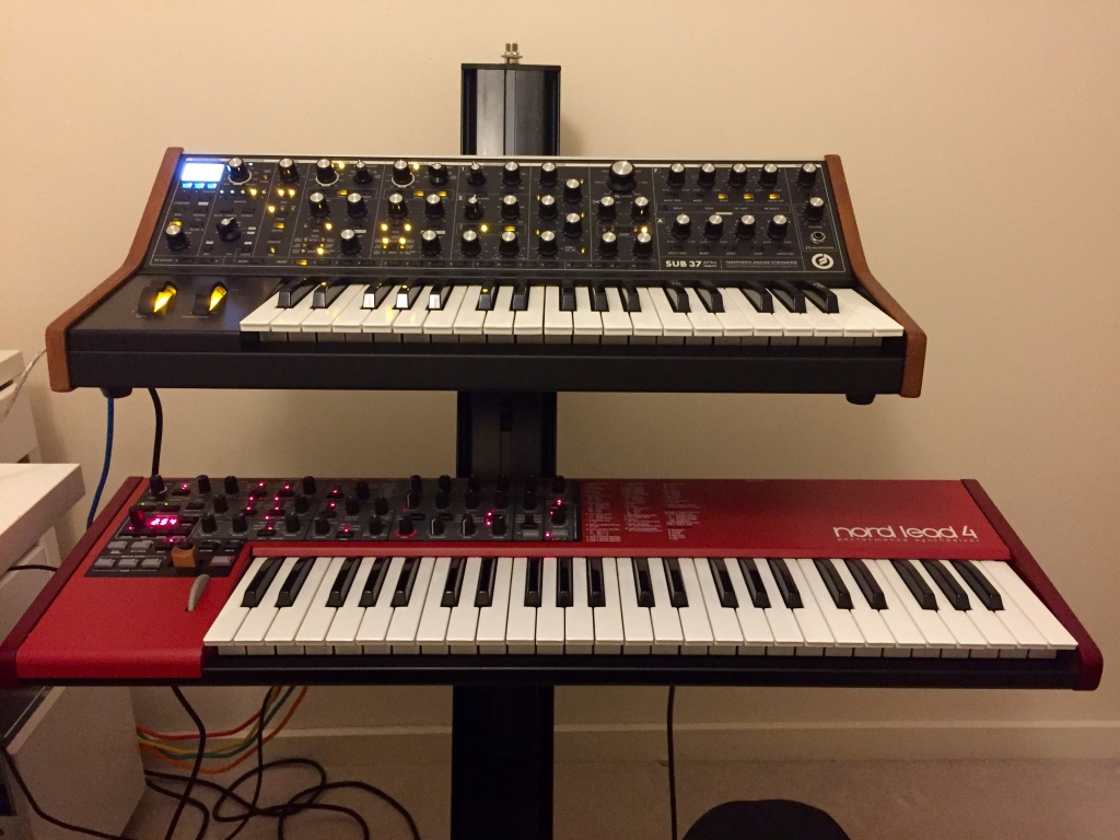 Just got 2 new synths! Moog Sub37 and Nord Lead 4 - Gearslutz
