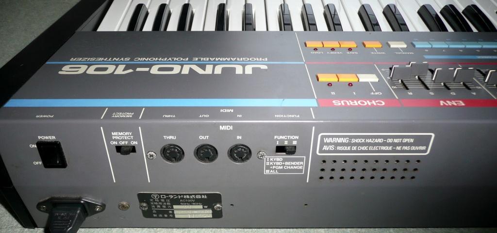 Roland Juno 106 100V - Gearslutz