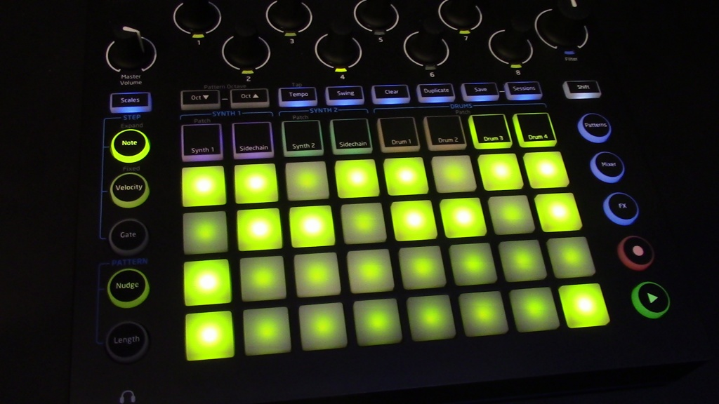 namm 2016 novation circuit is an inexpensive and addic synth and drum machine in one. Black Bedroom Furniture Sets. Home Design Ideas