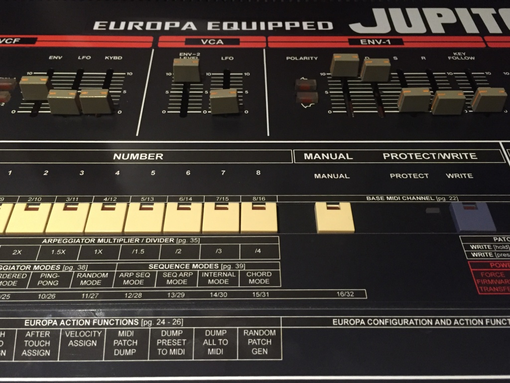 Roland Jupiter 6 Europa Magnetic cheat sheet - Gearslutz