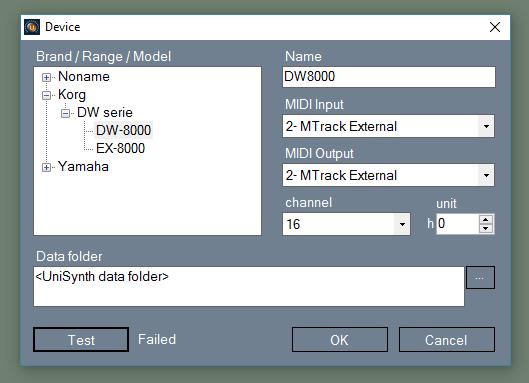 Sysex not sending to DW-8000, help  - Gearslutz