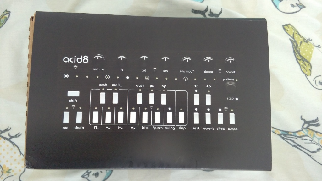 Twisted electrons acid8 new 8 bit desktop synth with for Acid electronic music