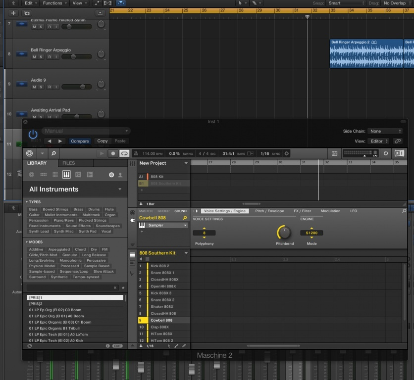 Free update to Maschine announced: Song Layers, Song Clips