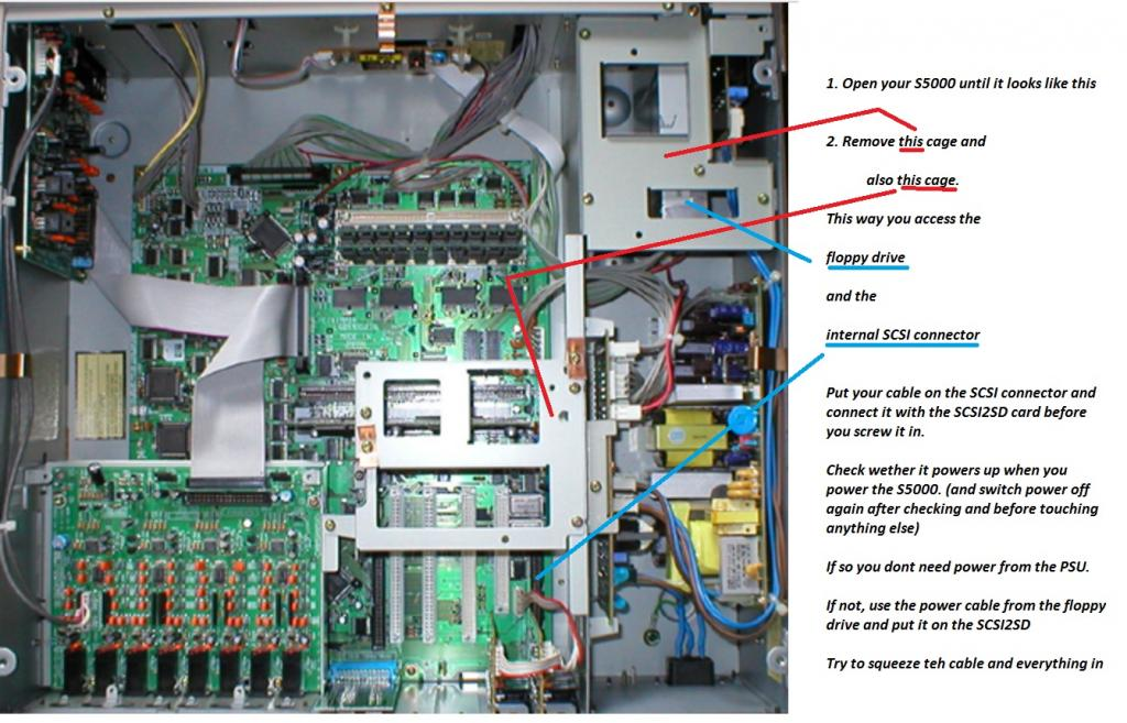 Akai S5000 hard drive thread - Gearslutz