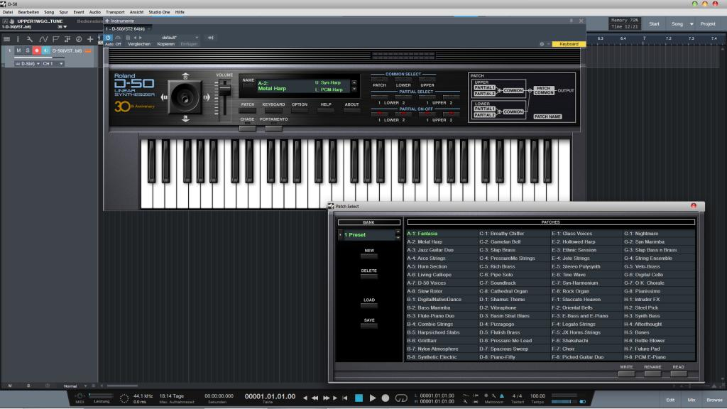 Roland d50 vst free | Roland D50 now available as AU and VST plugin