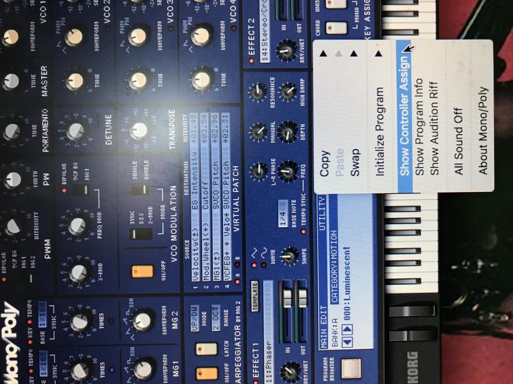Korg Mono/Poly Legacy VST - MIDI CC? - Gearslutz