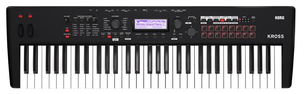 Korg updates it's entry level workstation, now called Kross 2