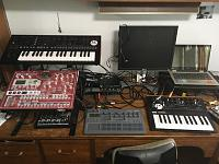 How much deskspace is an electronic musician supposed to have-img_1710.jpg