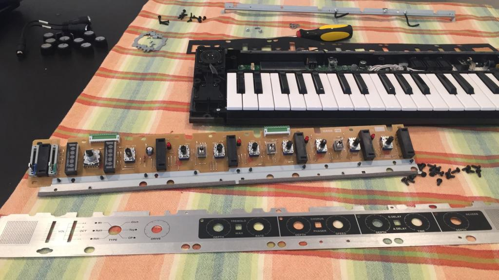 Yamaha Reface CP Conversion to Rack Mount or Module - Gearslutz
