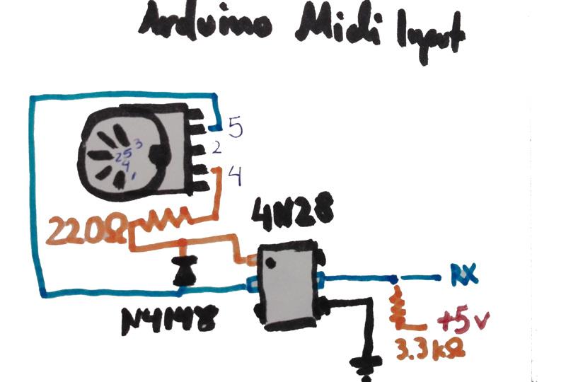 My Arduino Step Sequencer, Arpeggiator, Recorder, MIDI Gauge, and