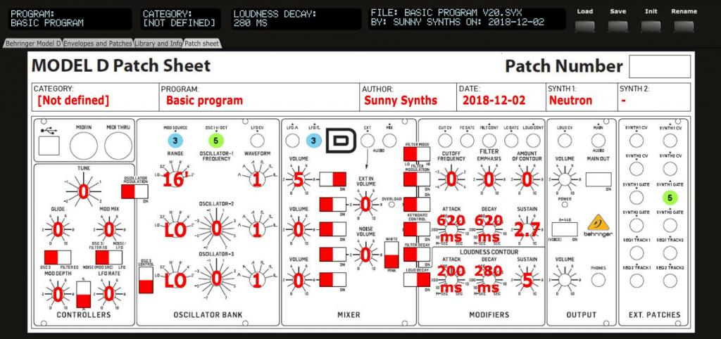 Post your Behringer Model D patches - Page 2 - Gearslutz
